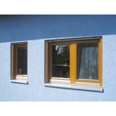 Holzfenster aus Eukalyptus